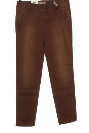 Mac Pantalón elástico marrón look casual
