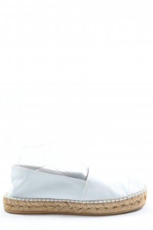 Macarena Espadrille blanc-crème style décontracté
