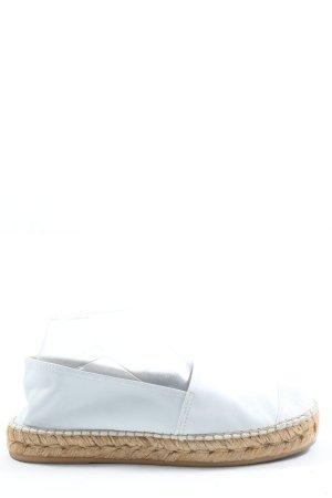 Macarena Espadrilles-Sandalen weiß-creme Casual-Look