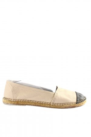 Macarena Espadrille Sandals cream-black casual look