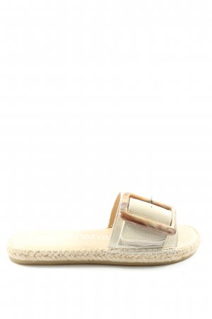 Macarena Strapped Sandals natural white casual look