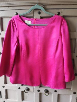 Barbara Kessels Jedwabna bluzka różowy