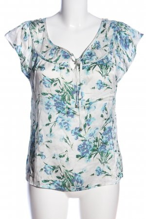 maddison Kurzarm-Bluse Blumenmuster Casual-Look
