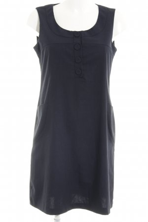 Made in Italy A-Linien Kleid dunkelblau