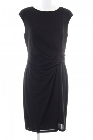 Made in Italy Abendkleid schwarz Business-Look