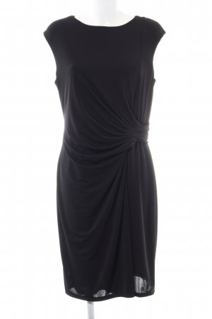 Made in Italy Abendkleid schwarz Casual-Look