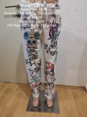 Made in Italy Bunte Mickey Mouse Jogpants Jogger Größe 48 50 Einheitsgröße