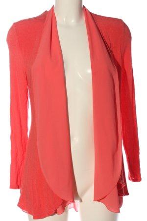 Made in Italy Kardigan czerwony W stylu casual