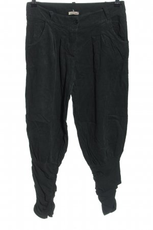 Made in Italy Corduroy Trousers black casual look