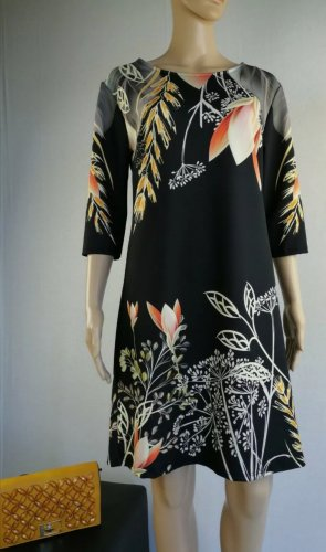 Bay Italy A Line Dress black-light orange polyester