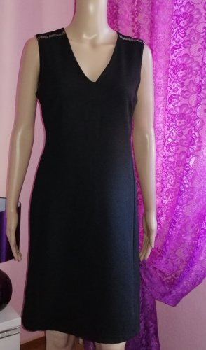 Made in Italy Damen Party Cocktail Kleid Jersey Gr. M 36/38
