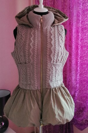 Made in Italy Quilted Gilet beige polyester