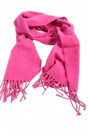 Made in Italy Fransenschal pink Casual-Look