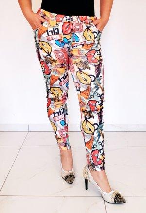 Zara Pantalon capri multicolore