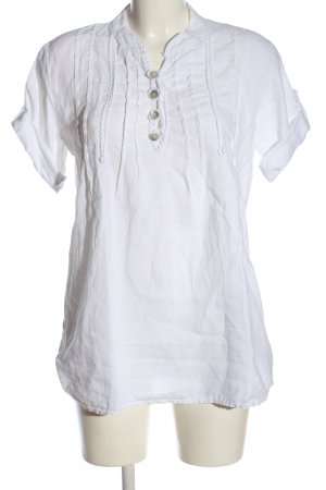 Made in Italy Hemd-Bluse weiß Casual-Look