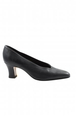 Made in Italy Klassische Pumps schwarz Casual-Look