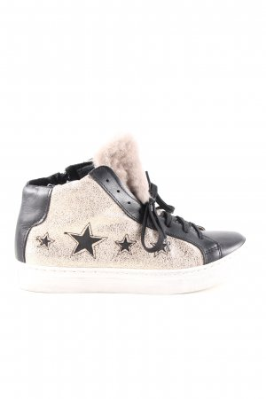 Made in Italy High Top Sneaker Motivdruck Casual-Look