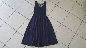 "Made in Italy Kleid "" dunkelblau "" Gr. 36 "" wieNEU !!!"