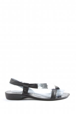 Made in Italy Comfort Sandals black casual look