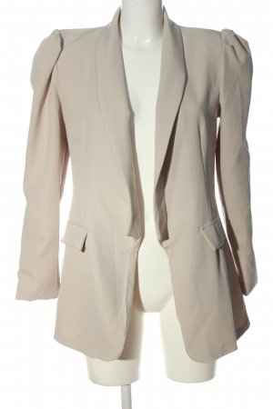 Made in Italy Kurz-Blazer wollweiß Business-Look
