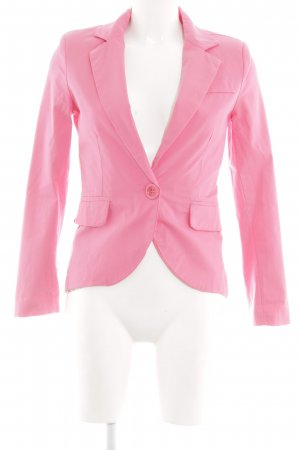 Made in Italy Kurz-Blazer pink Casual-Look