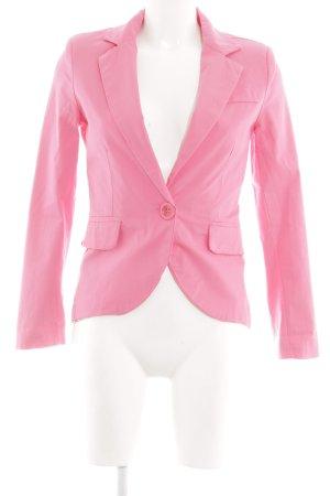Made in Italy Kurz-Blazer pink Casual-Look