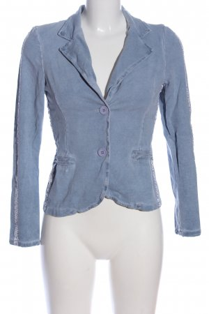 Made in Italy Kurz-Blazer blau Casual-Look