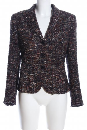 Made in Italy Kurz-Blazer Allover-Druck Business-Look