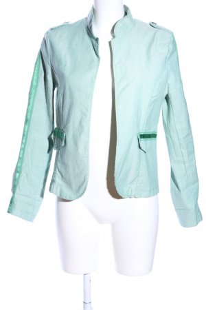Made in Italy Veste courte turquoise style décontracté