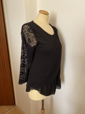 Made in Italy Lace Top black