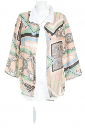 Made in Italy Langarm-Bluse Mustermix Street-Fashion-Look