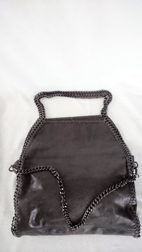 Made in Italy Leder Tasche Shopper ähnlich Stella McCartney Falabella.