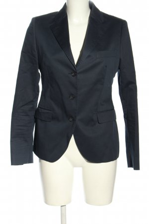 Made in Italy Long-Blazer blau Business-Look