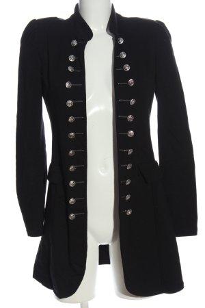 Made in Italy Long-Blazer schwarz Elegant