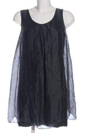 Made in Italy Blusenkleid schwarz Casual-Look