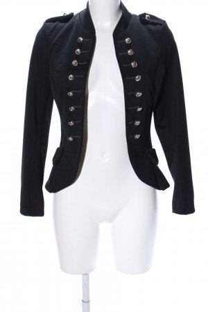 Made in Italy Chaqueta estilo naval negro estilo «business»