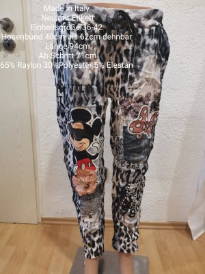 Made in Italy Mickey Mouse Jogpants Jogger Größe 36 38 40 42 Einheitsgröße