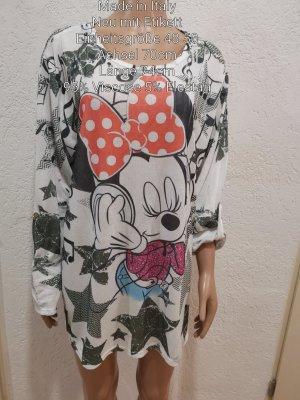 Made in Italy Minnie Mouse Pullover Bluse Größe 48 50 Einheitsgröße