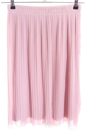 Made in Italy Gonna pieghettata rosa elegante