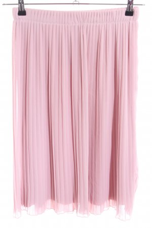 Made in Italy Pleated Skirt pink elegant