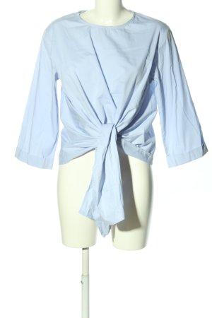 Made in Italy Blouse à enfiler bleu style décontracté