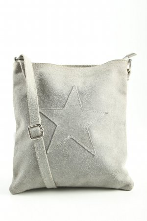 Made in Italy Shoulder Bag light grey casual look