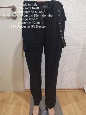 Made in Italy Pantalone bloomers nero