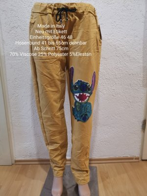 Made in Italy Pantalone bloomers sabbia