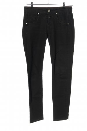Made in Italy Skinny Jeans schwarz Casual-Look