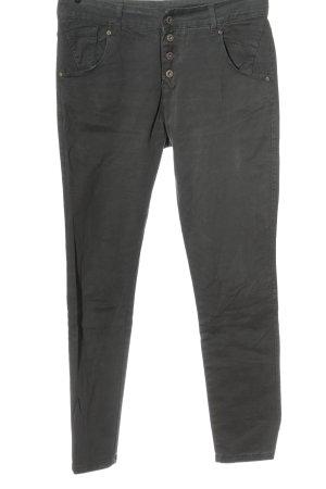 Made in Italy Slim Jeans hellgrau Casual-Look