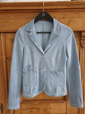 Made in Italy Blazer sweat azzurro