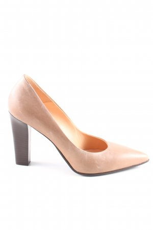 Made in Italy Spitz-Pumps nude Business-Look