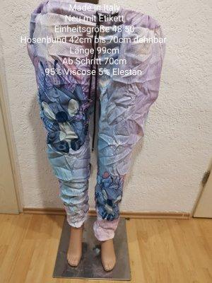 Made in Italy Pumpy jasny fiolet-jasnoniebieski