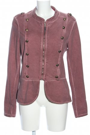 Made in Italy Sweatjacke pink Casual-Look